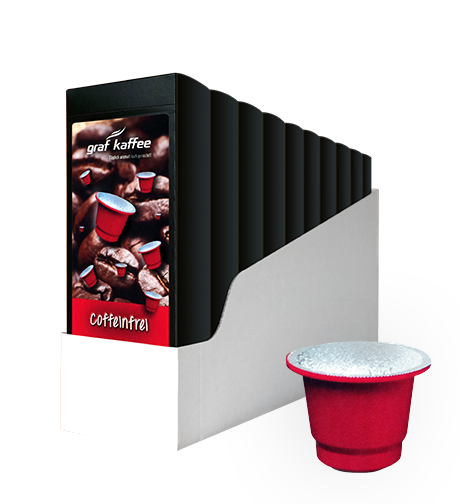 Product image coffee capsule coffeinfrei