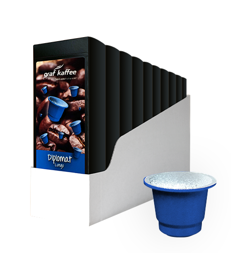 Product image coffee capsule diplomat