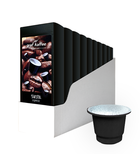 Product image coffee capsule siesta